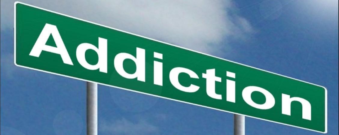 Addiction Sign